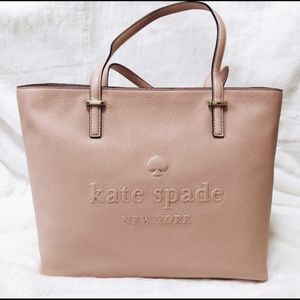 Kate Spade Pink Remmi Leather Ash Street Tote